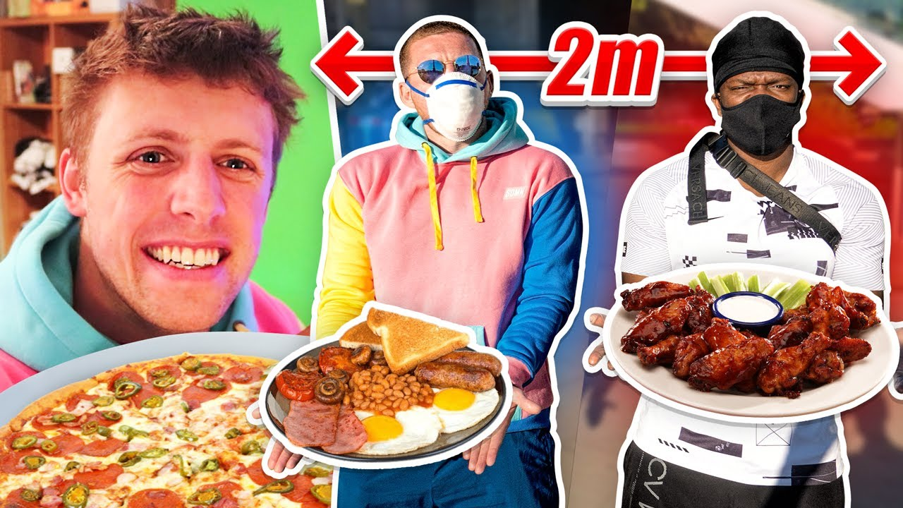 SIDEMEN 70,000 CALORIES CHALLENGE IN LOCKDOWN