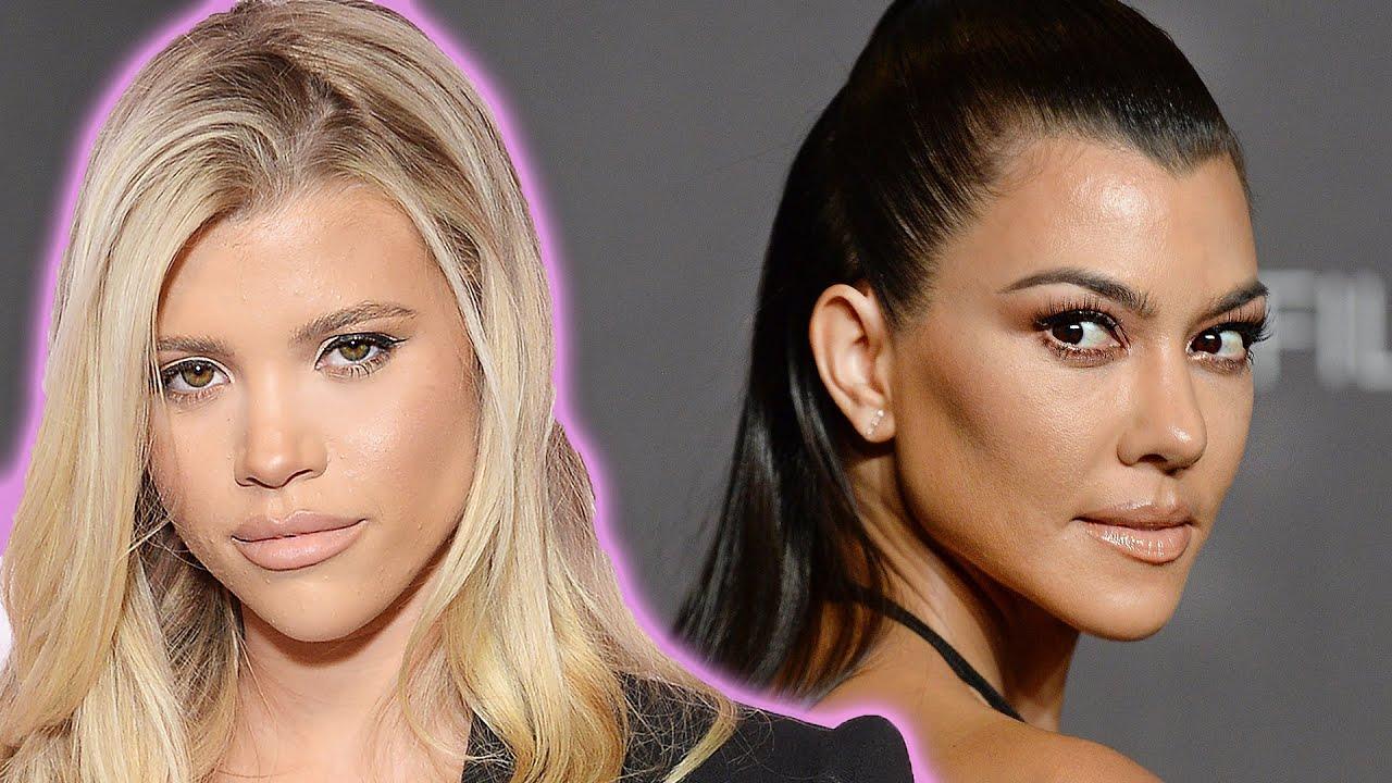 Sofia Richie Reacts To Kourtney Kardashian & Scott Disick Dating Rumors