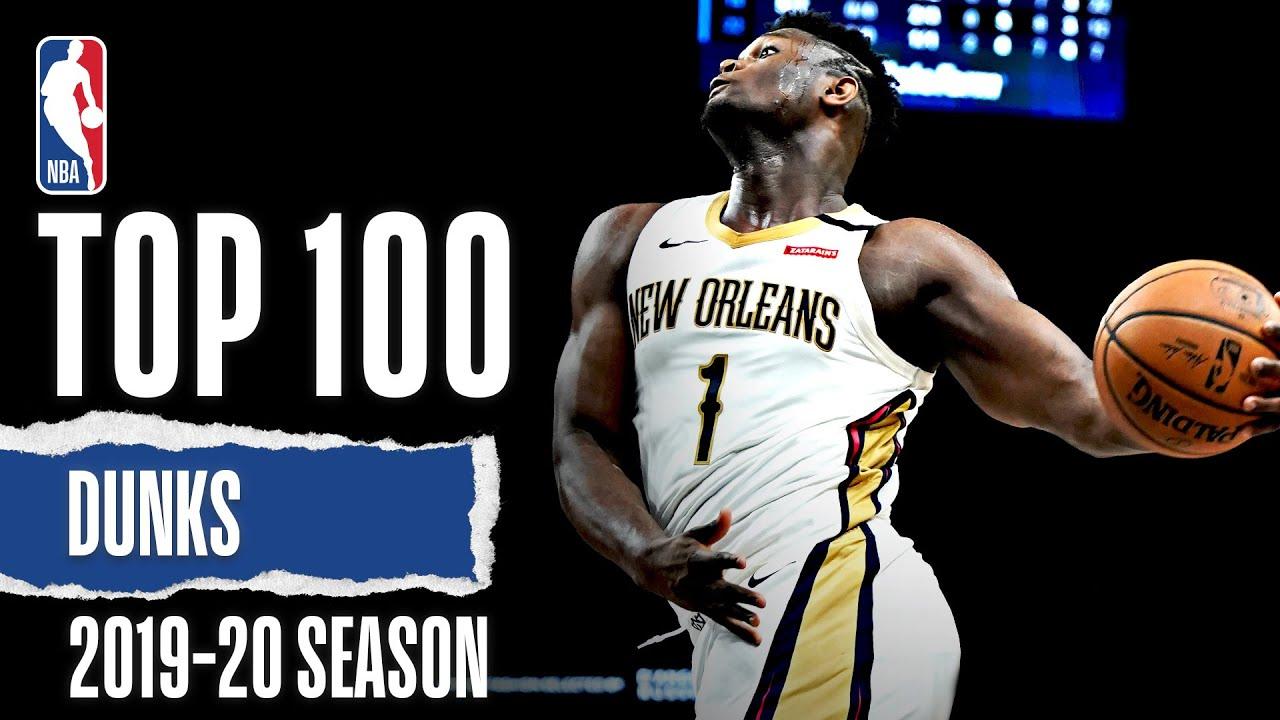 TOP 100 Dunks | 2019-20 NBA Season