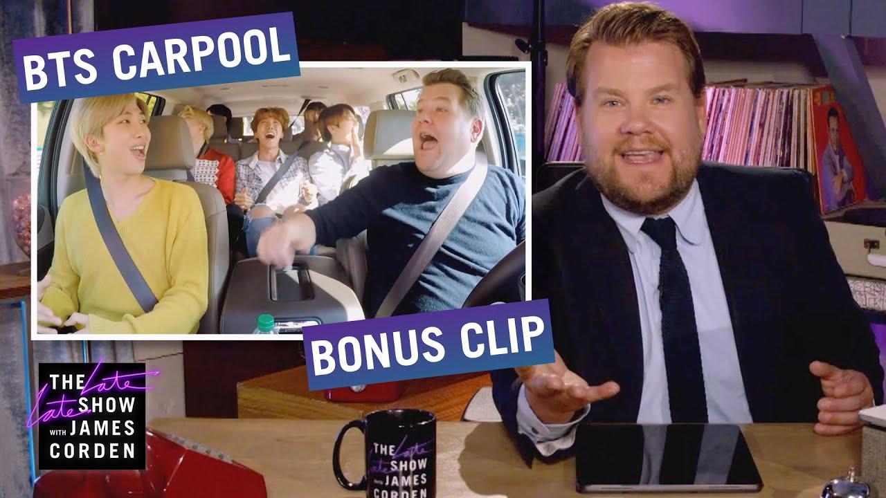 The BTS Army Are Mercenaries for Change – Carpool Karaoke Bonus Clip