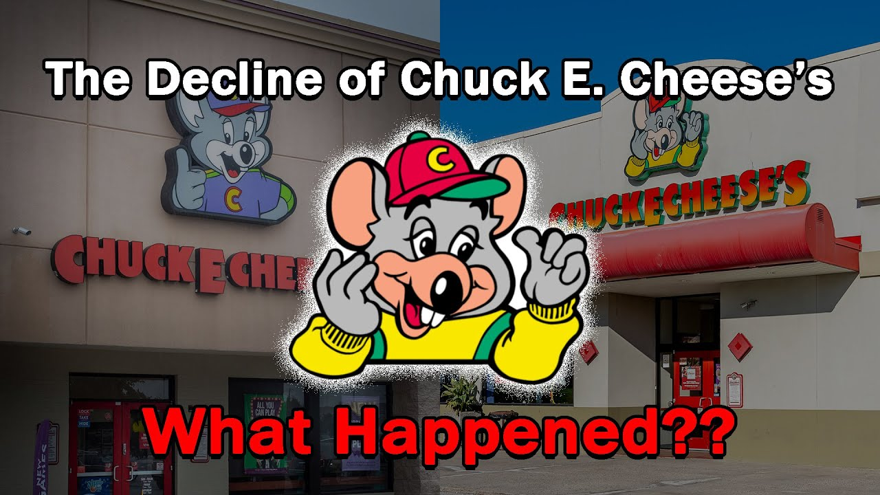 The Decline of Chuck E. Cheese's…What Happened?