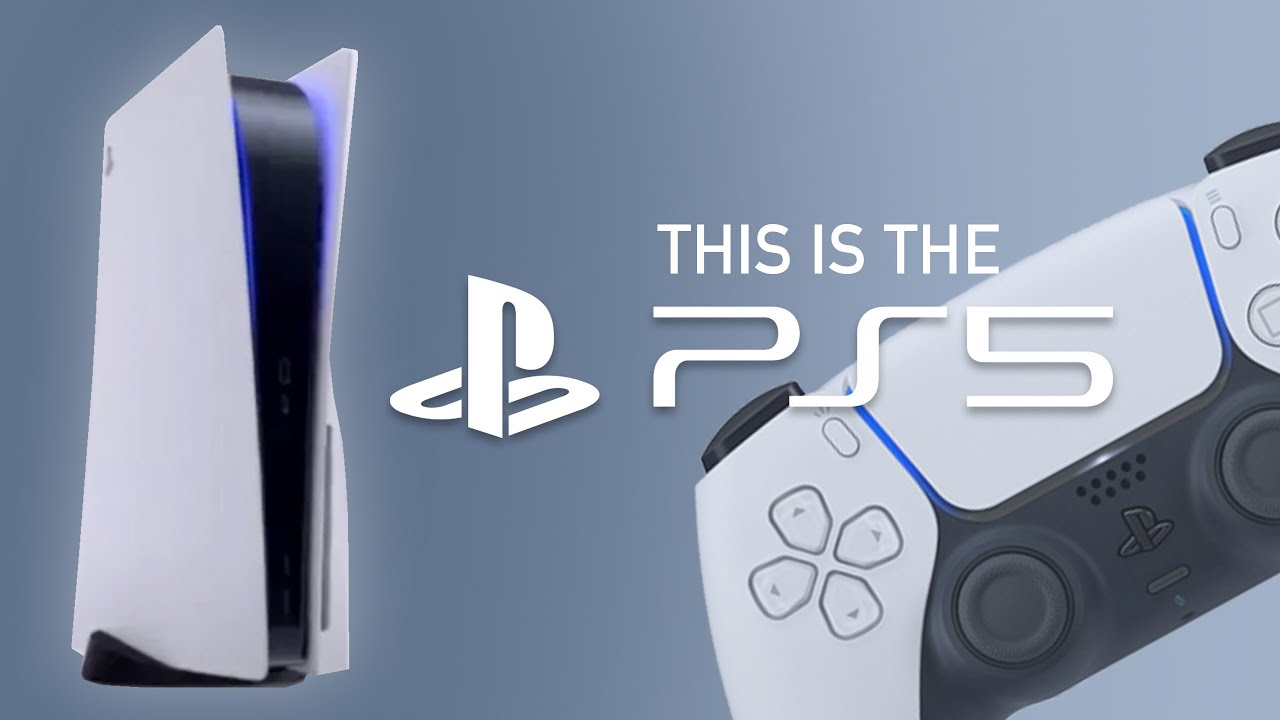 This is the Sony PLAYSTATION 5 (PS5 Reveal)