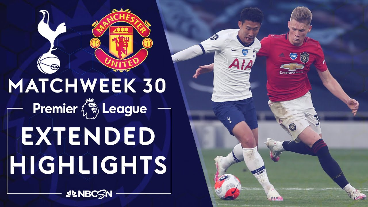 Tottenham v. Manchester United | PREMIER LEAGUE HIGHLIGHTS | 6/19/2020 | NBC Sports