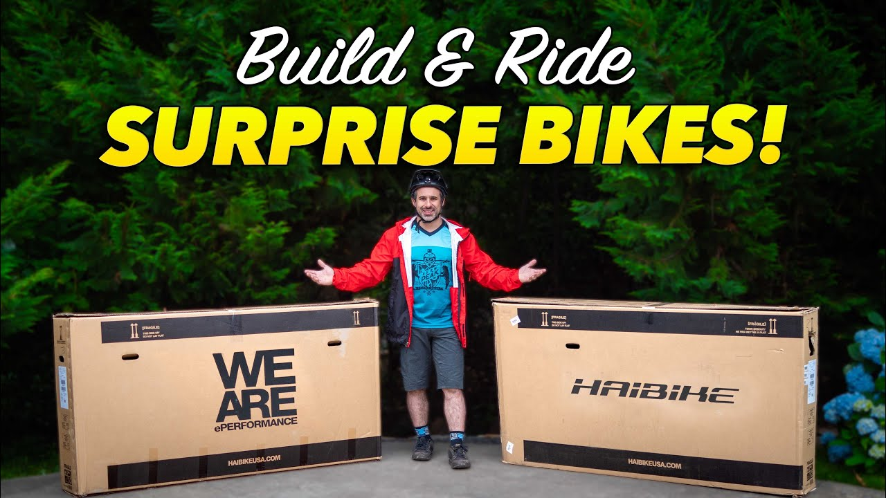 Unboxing and Testing Two Surprise Mountain Bikes!
