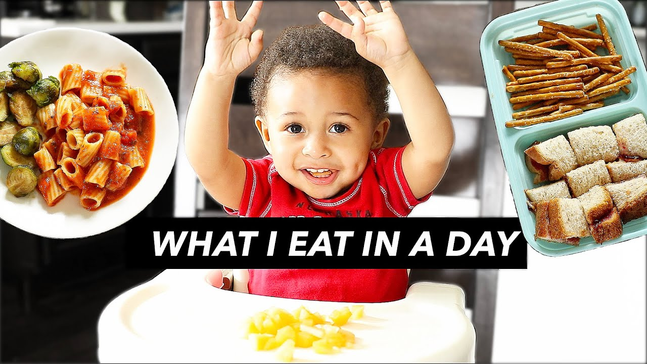 WHAT MY 1-YEAR-OLD EATS IN A DAY ?(vegan)