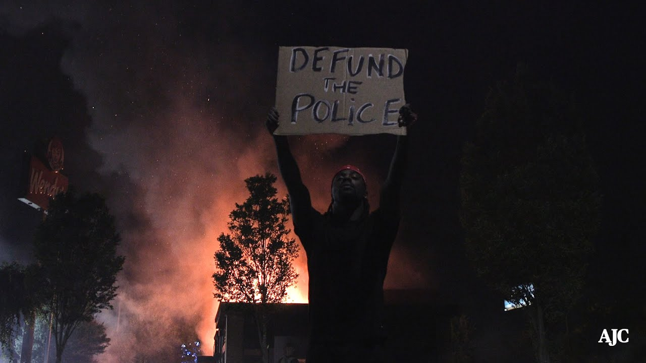 Wendy's set on fire where fatal police shooting took place