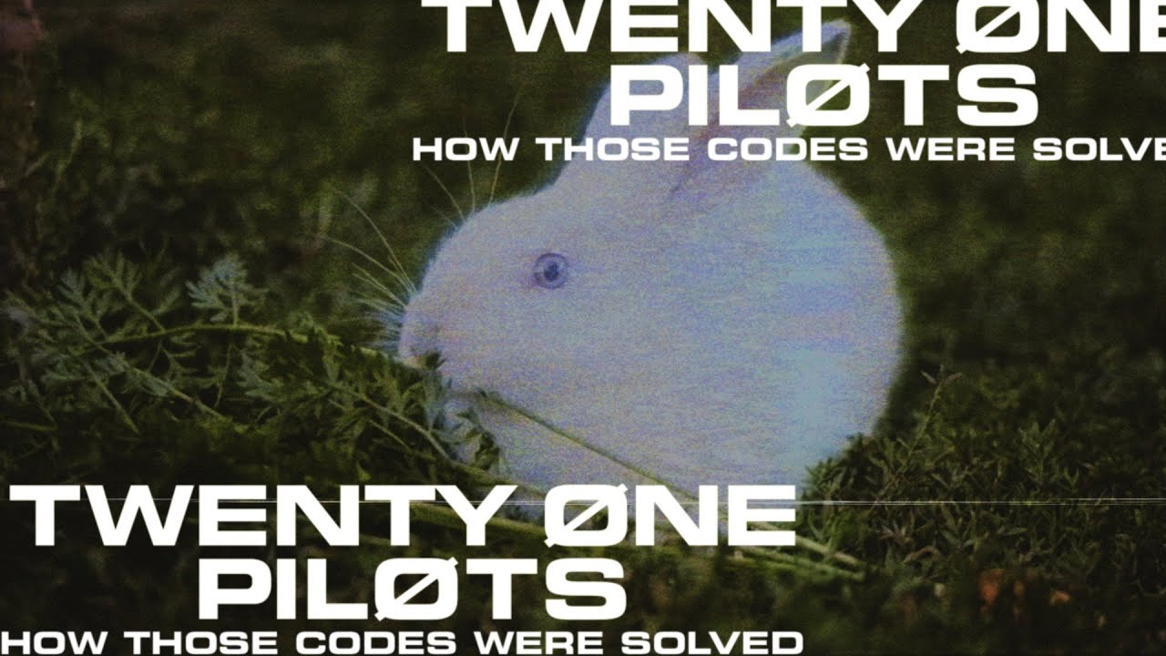 twenty one pilots – How Those Codes Were Solved (A Recap for Locals)