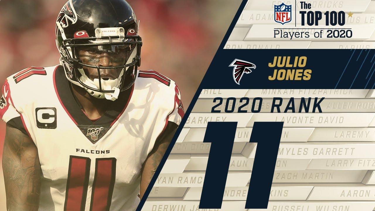 #11: Julio Jones (WR, Falcons) | Top 100 NFL Players of 2020