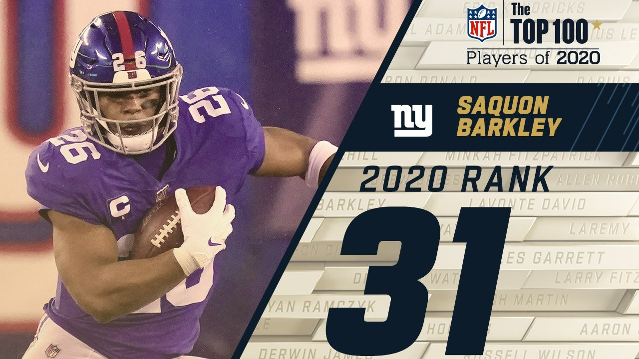 #31: Saquon Barkley (RB, Giants) | Top 100 NFL Players of 2020