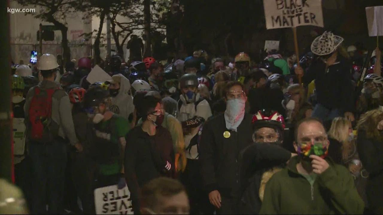 60 people have been arrested near or at federal courthouse in Portland