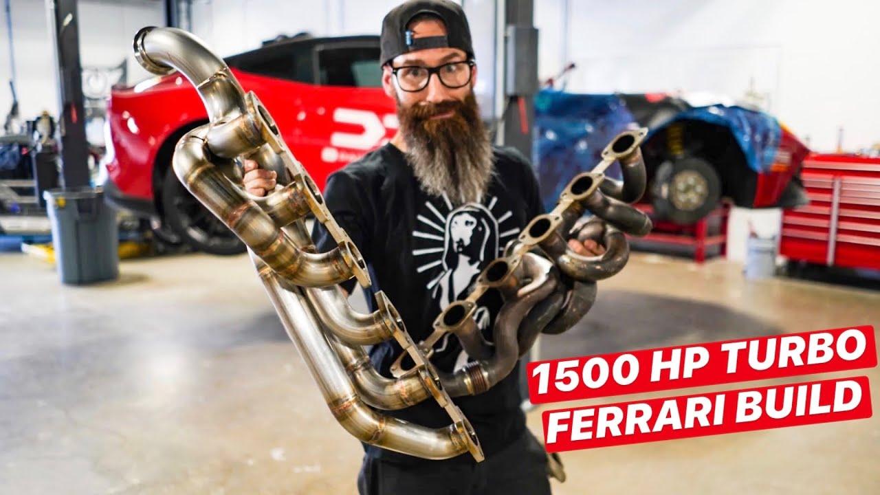 Aaron Kaufman Builds 1500 HP FERRARI TWIN TURBO F12 for DDE: Episode 2