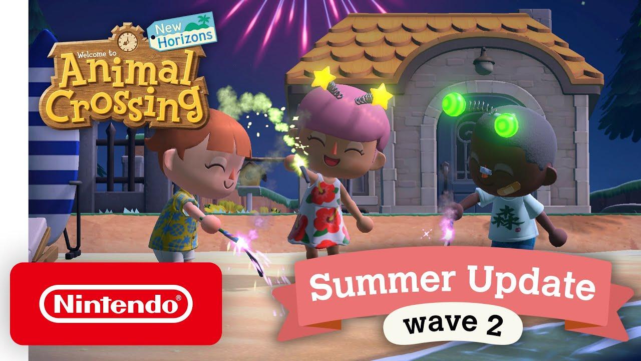 Animal Crossing: New Horizons Summer Update – Wave 2 – Nintendo Switch