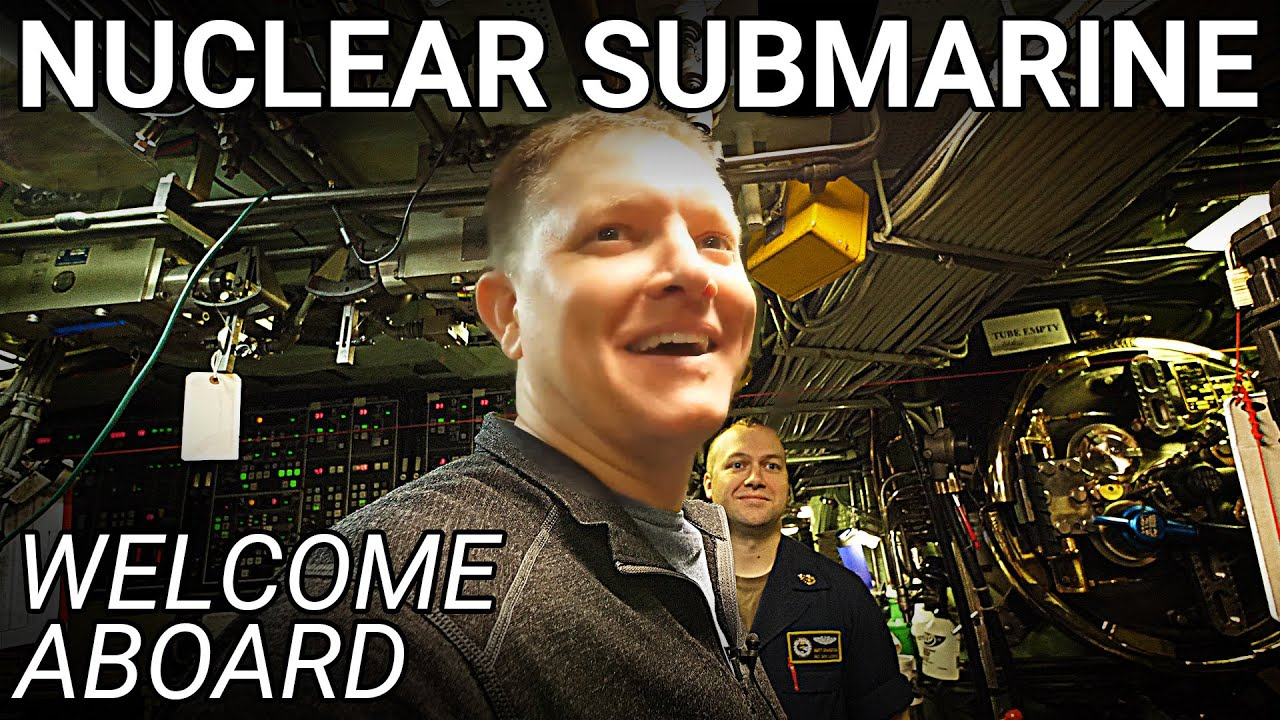 Boarding a US NAVY NUCLEAR SUBMARINE in the Arctic – Smarter Every Day 240