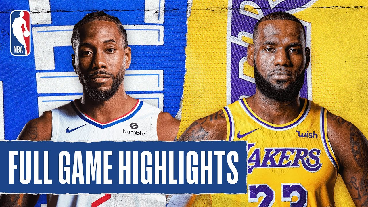 CLIPPERS at LAKERS | FULL GAME HIGHLIGHTS | July 30, 2020