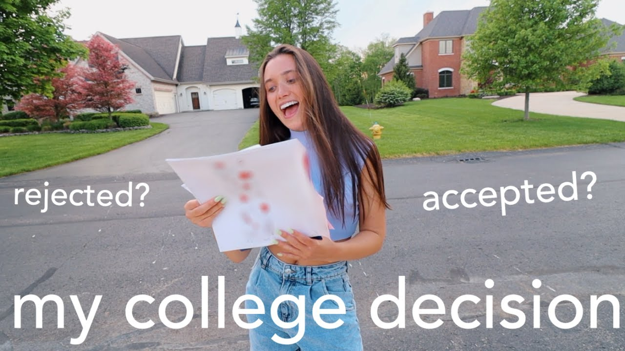 COLLEGE DECISION REACTIONS + where i'm going to school 2020 !!!