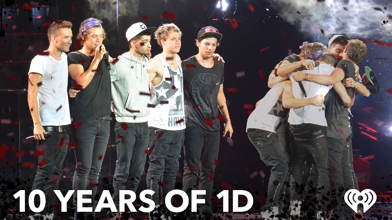 Celebrate 10 YEARS of ONE DIRECTION with UNSEEN MOMENTS from Their Tours Over the Years!