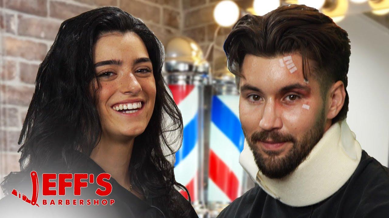 DIXIE D'AMELIO TALKS ABOUT NEW SONG/ LAWSUIT | Jeff's Barbershop
