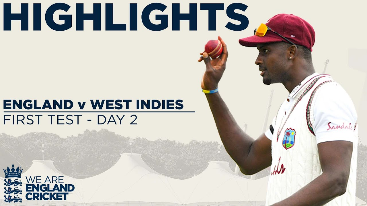 Day 2 Highlights | Stunning Holder Takes Best Ever 6-42 | England v West Indies 1st Test 2020