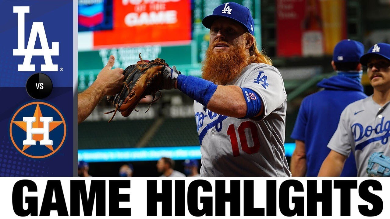Dodgers rally in 5th in 5-2 win vs. Astros as tempers flare | Dodgers-Astros Highlights 7/28/20