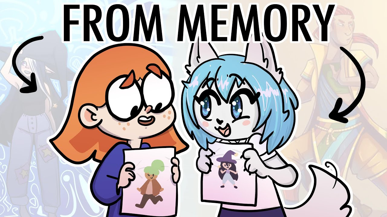 Drawing your art from memory w/ @Wolfychu