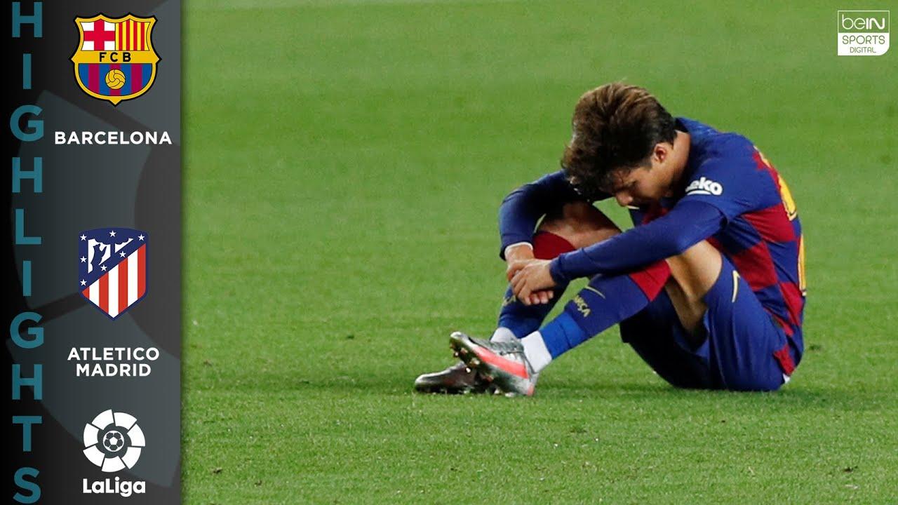 FC Barcelona 2-2 Atletico Madrid – HIGHLIGHTS & GOALS – 6/30/20