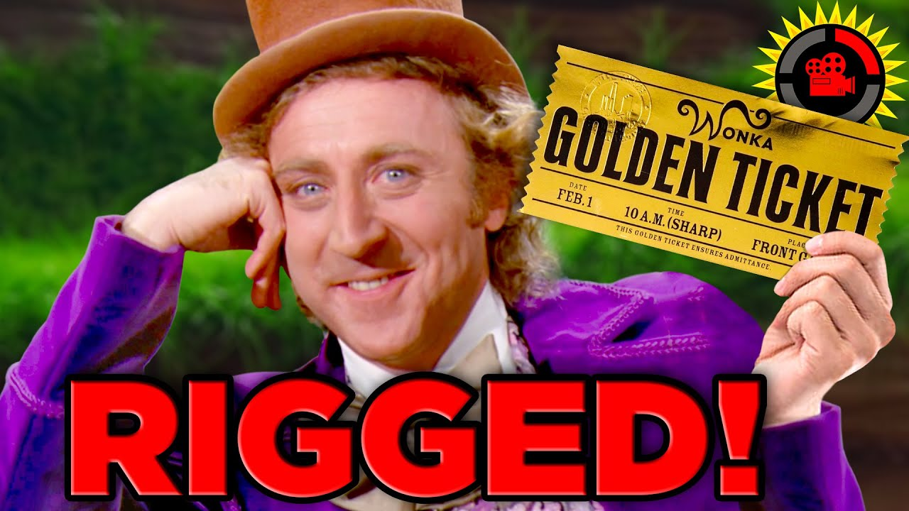 Film Theory: Willy Wonka RIGGED the Golden Tickets!