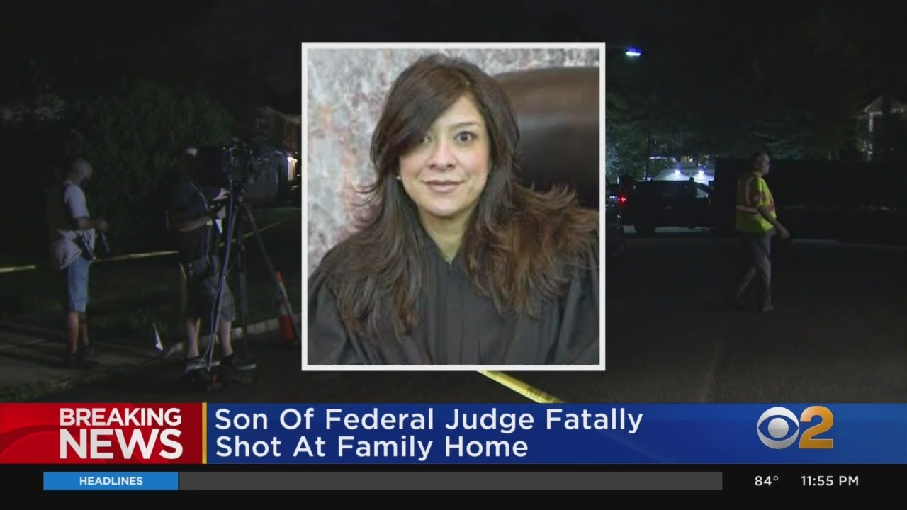 Gunman Opens Fire At Home Of N.J. Federal Judge