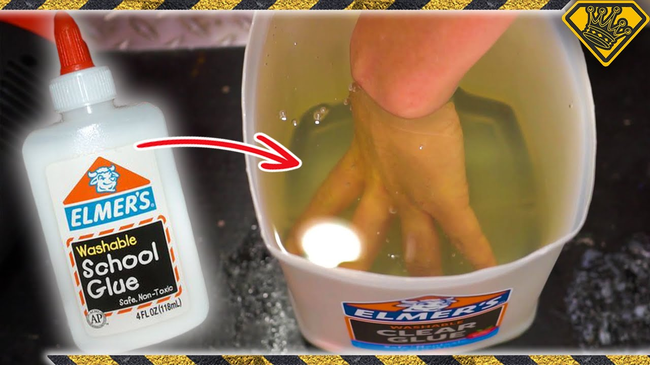 How Many Layers of Glue Does It Take To Make A Glue Glove?