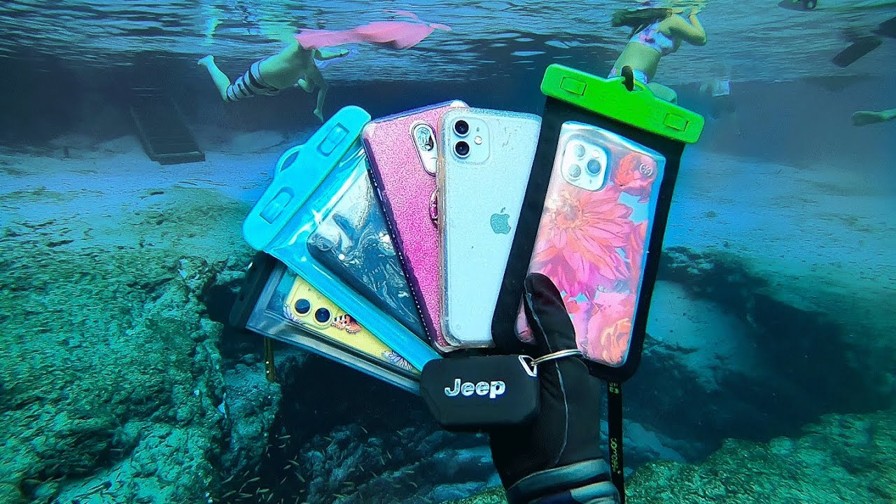 How Many Phones Will I Find Underwater? (Scuba Diving ...