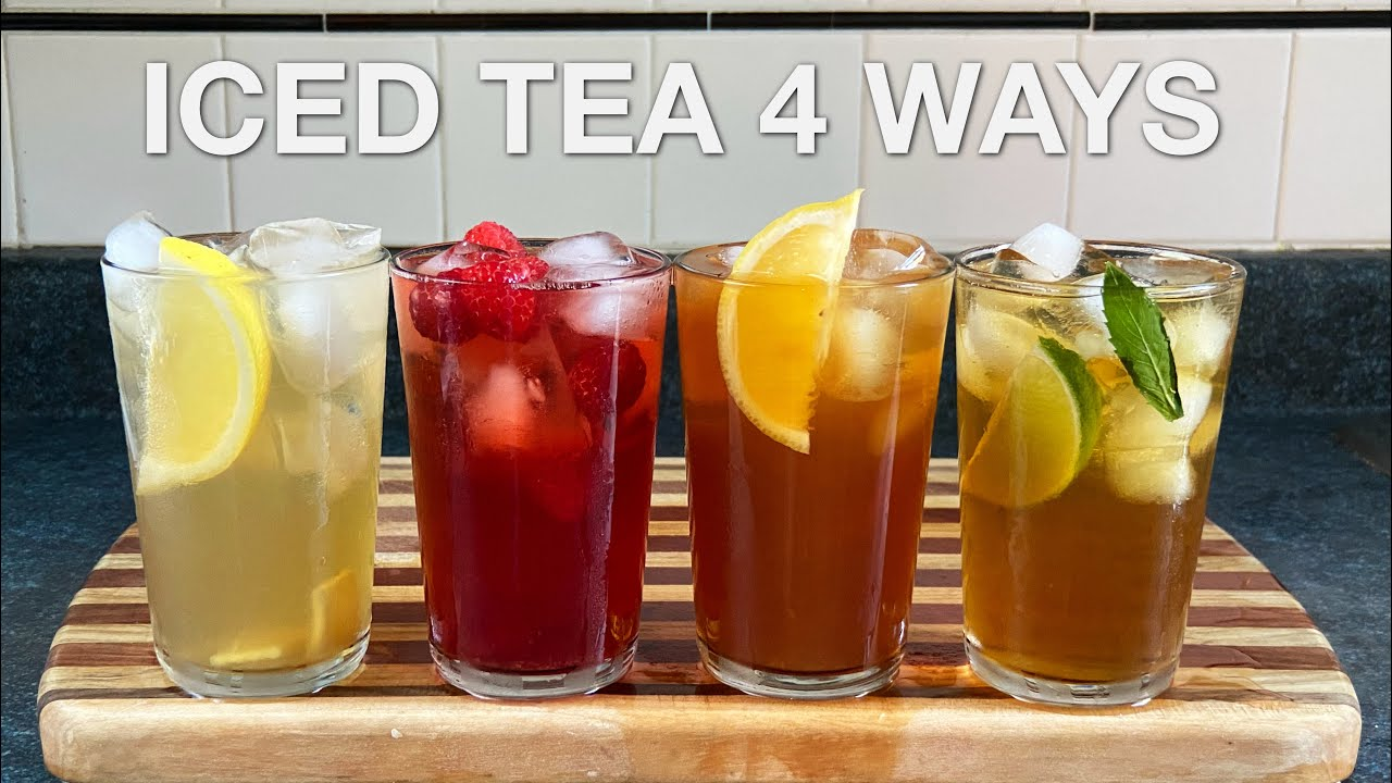 Iced Tea 4 Ways – You Suck at Cooking (episode 112)