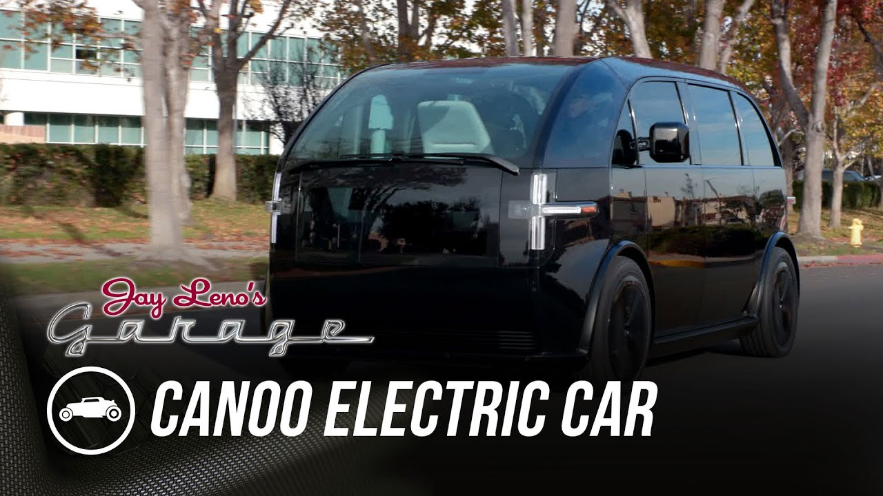 Inside Look At New Car Company Canoo – Jay Leno's Garage
