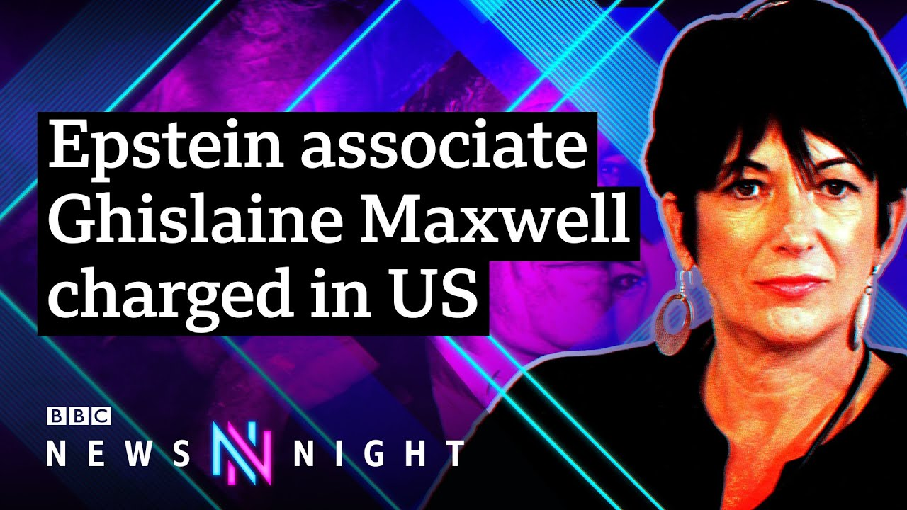 Jeffrey Epstein's ex-girlfriend Ghislaine Maxwell arrested and charged by FBI – BBC Newsnight