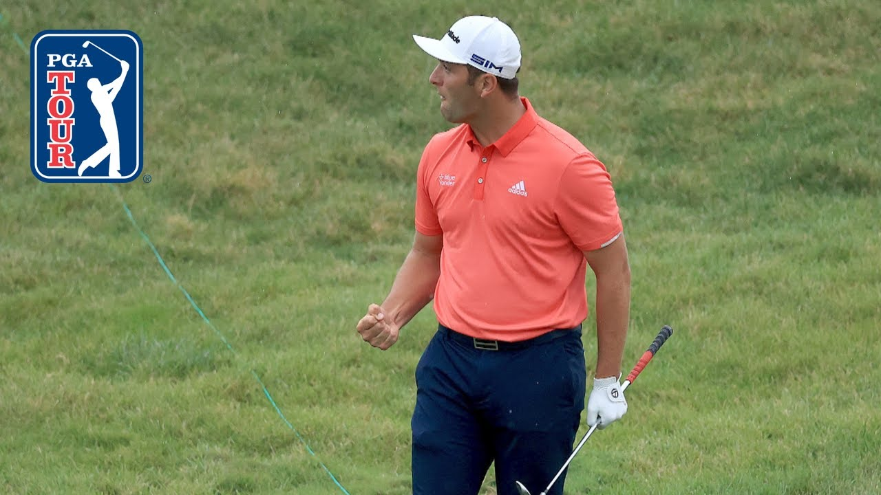 Jon Rahm assessed two-stroke penalty after chip-in at the Memorial
