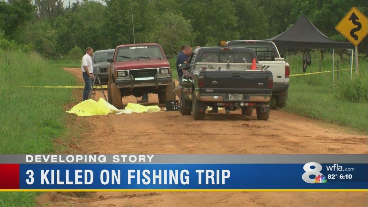 Judd: 3 close friends 'massacred' during fishing trip in Frostproof