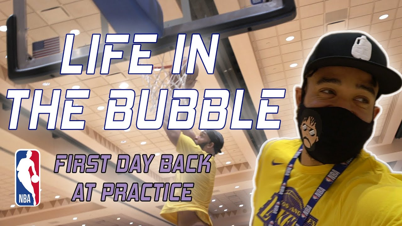 Life in the Bubble – First Practice Back! | JaVale McGee Vlogs