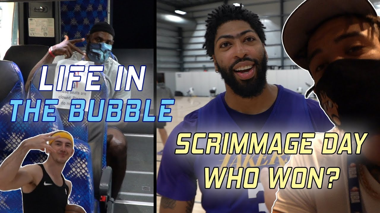 Life in the Bubble – Full Team Scrimmage! Who Won?! ? | JaVale McGee Vlogs