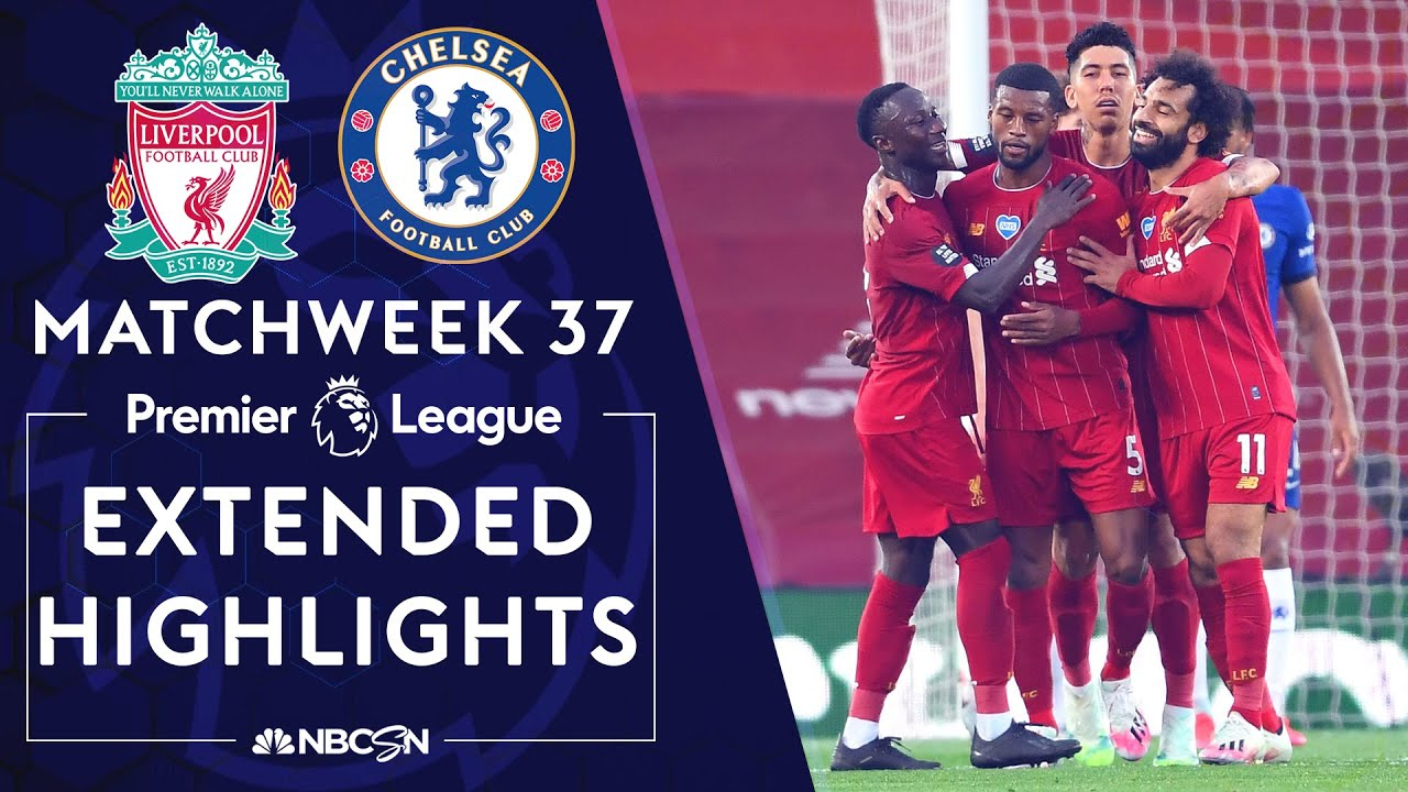 Liverpool v. Chelsea | PREMIER LEAGUE HIGHLIGHTS | 7/22/2020 | NBC Sports