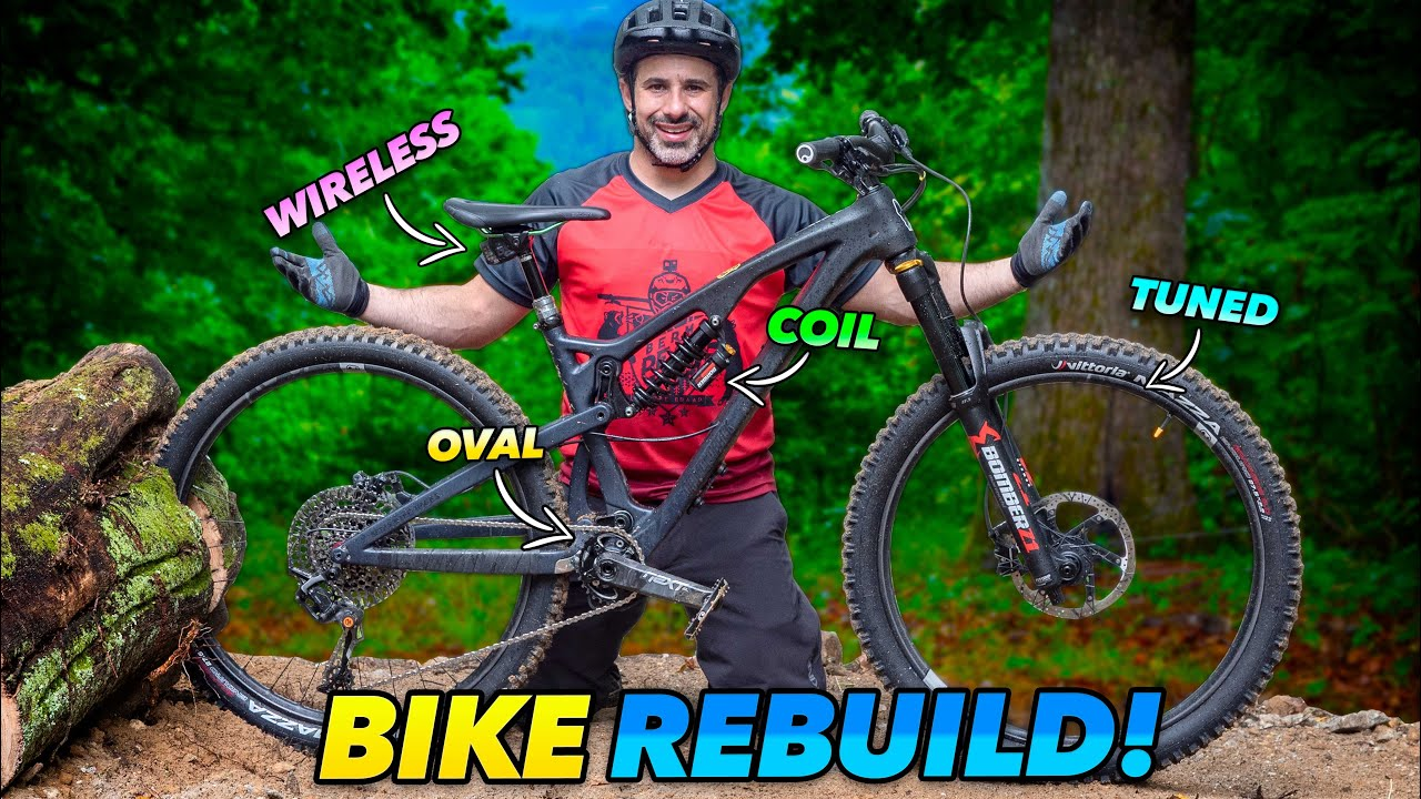MTB Overhaul! Totally replacing everything on my bike for the cause