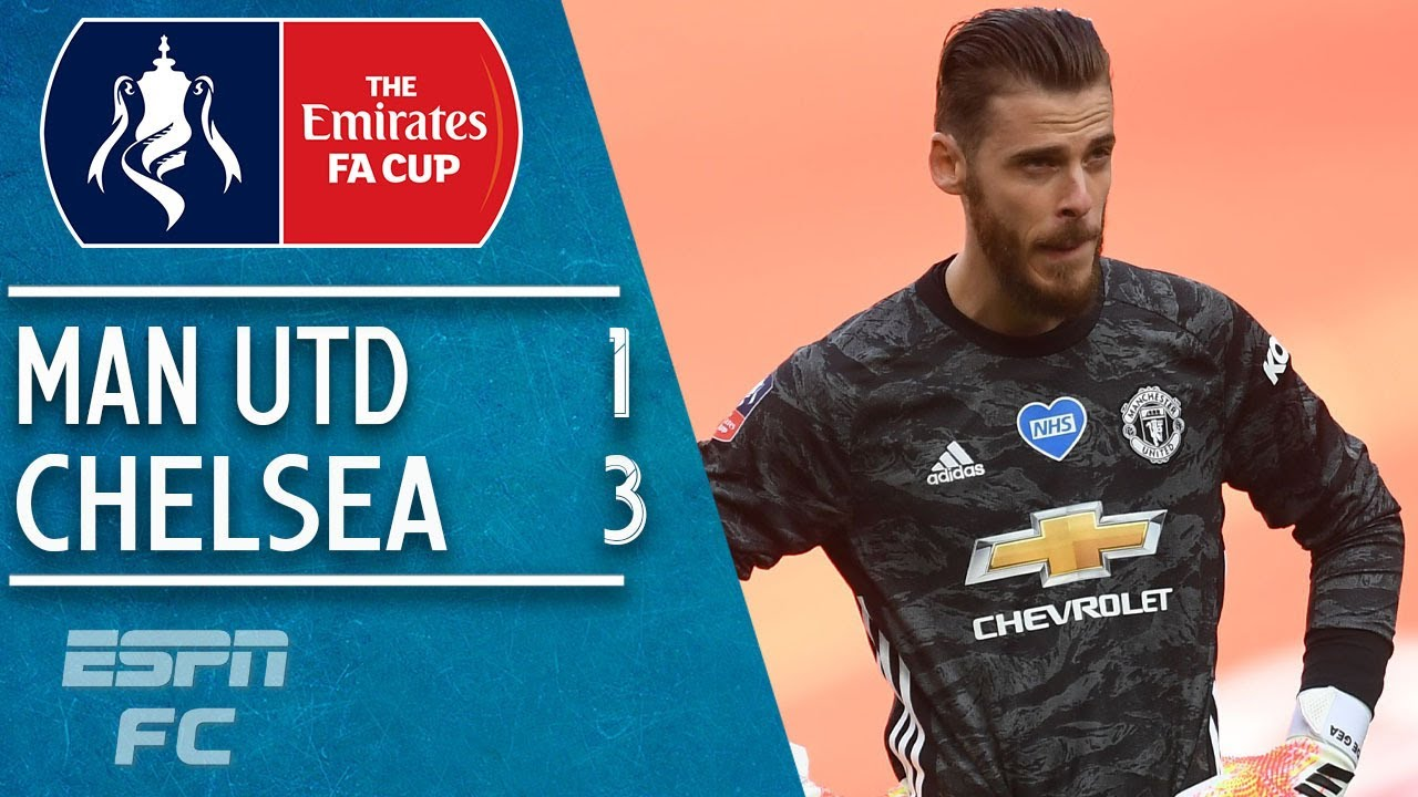 Man United 1-3 Chelsea: Blues through to final on David De Gea's day to forget | FA Cup Highlights