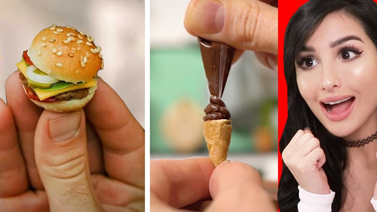 Mini Foods You Can Actually Eat