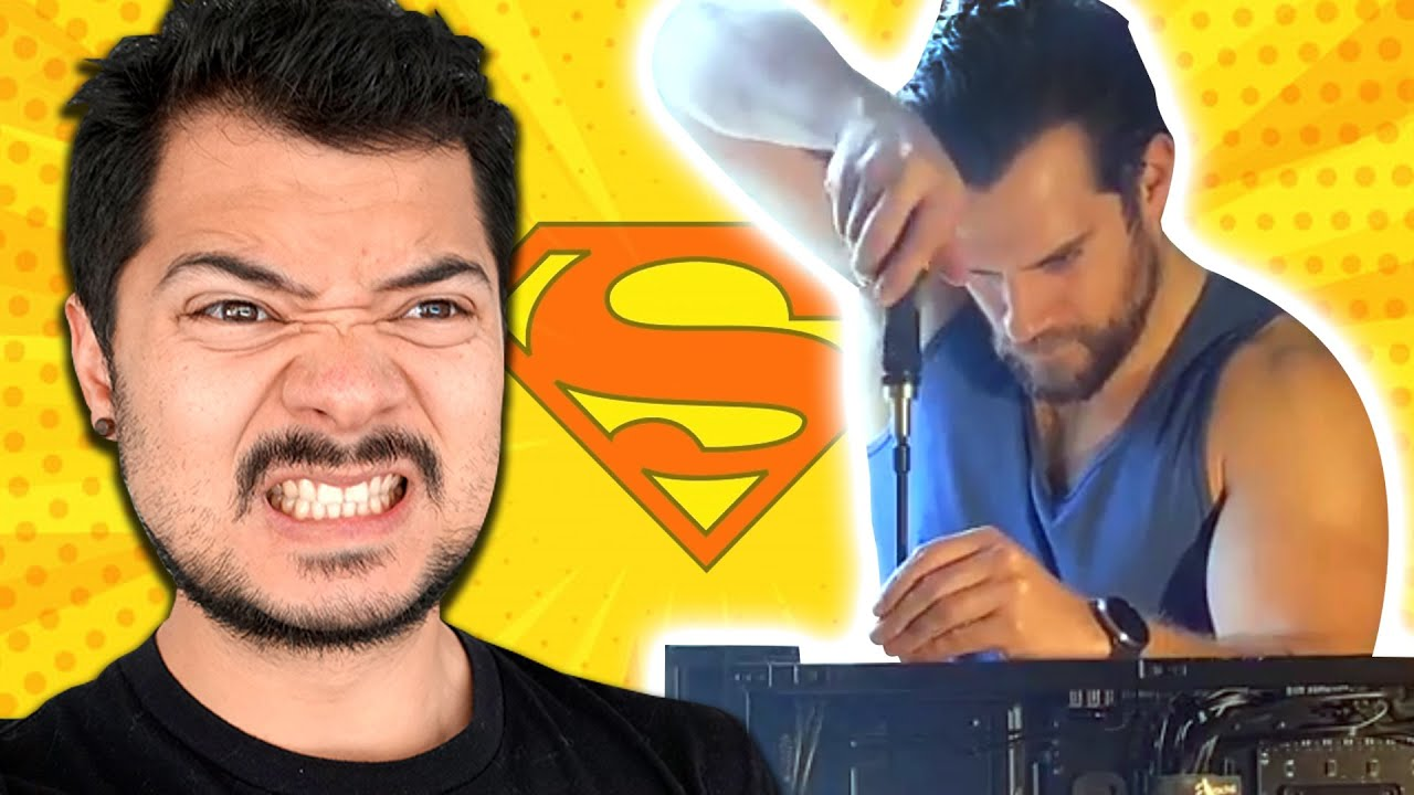 "My response to ""Henry Cavill builds a gaming PC"""