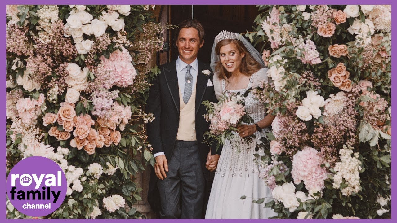 Newly Married Princess Beatrice and Edoardo Mapelli Mozzi Share New Pictures From Wedding Day