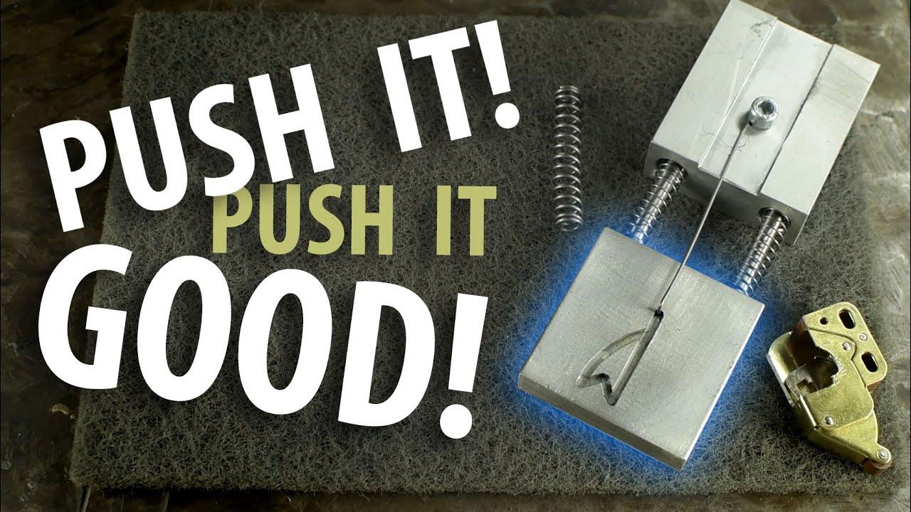 PUSH LATCH Mechanisms (DIY!)