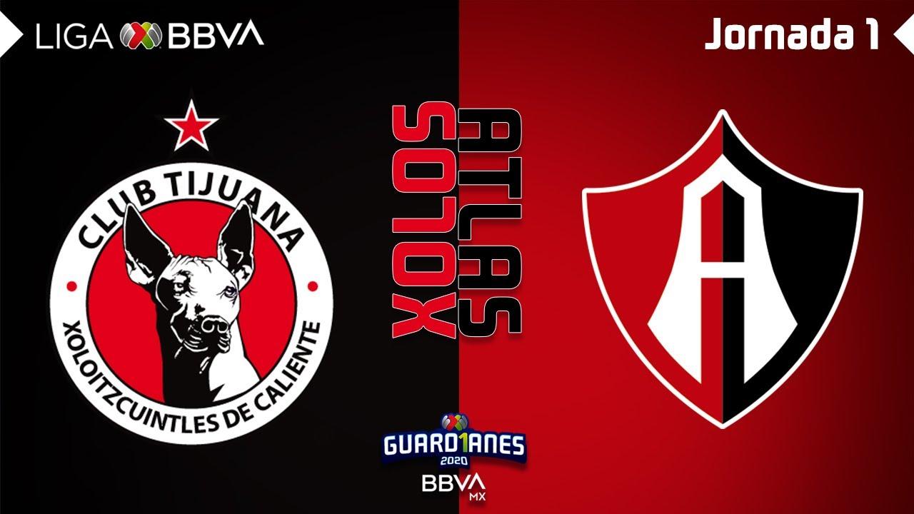 Resumen | Tijuana 3 – 1 Atlas | Liga MX – Guardianes 2020 – Jornada 1 | LIGA BBVA MX
