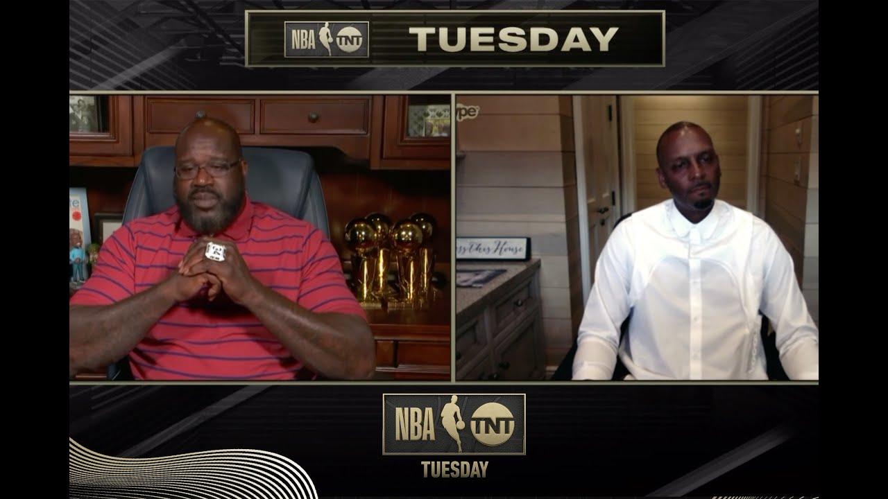 Shaq and Penny Hardaway Reunite    NBA on TNT Tuesday