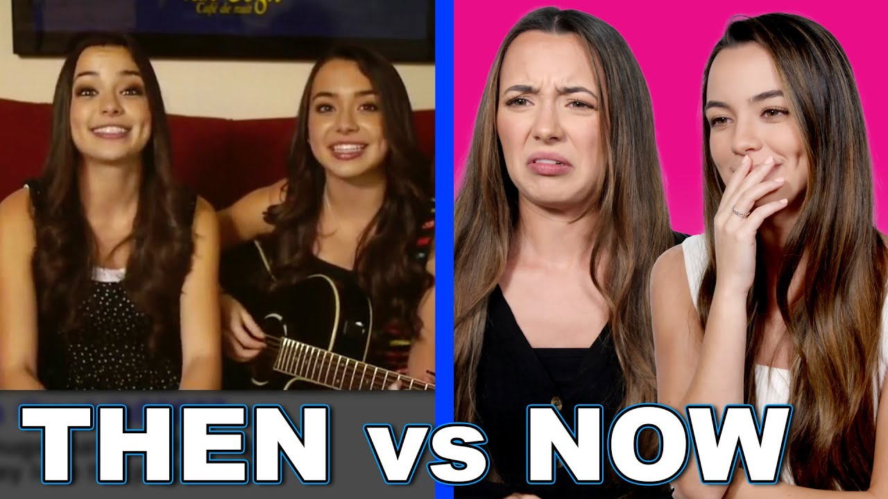 THEN vs NOW Our 500th Video?! – Merrell Twins