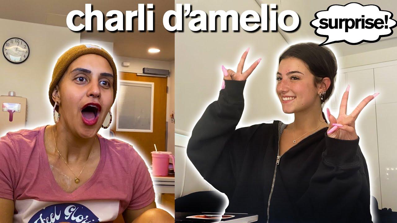 TIKTOK STARS SURPRISE CANCER PATIENT ft/ Charli D'Amelio *Emotional*
