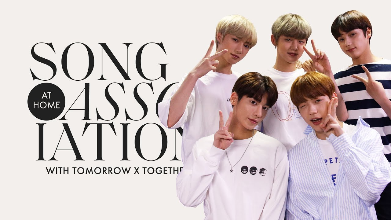 "TOMORROW X TOGETHER Sings BTS, Bruno Mars, and ""New Rules"" in a Game of Song Association 