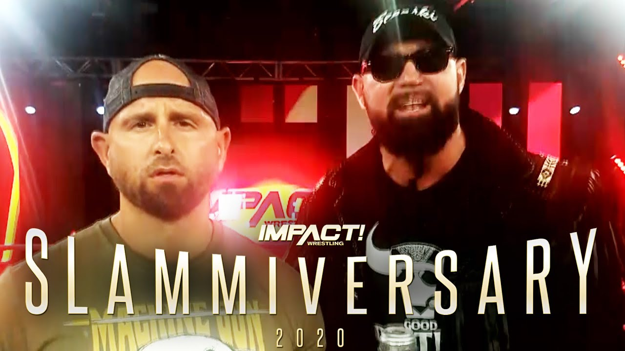 The Good Brothers Are Coming To Slammiversary TONIGHT LIVE on PPV!