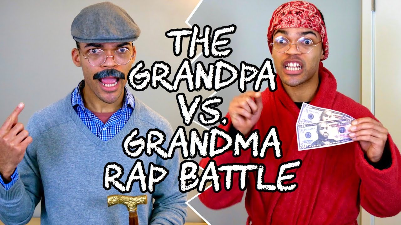 The Grandpa vs. Grandma Rap Battle